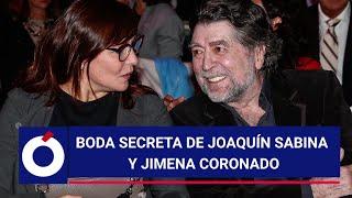 Boda Secreta De Joaquín Sabina Y Jimena Coronado
