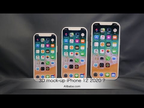 iPhone 12 2020 3D プリントモックアップ