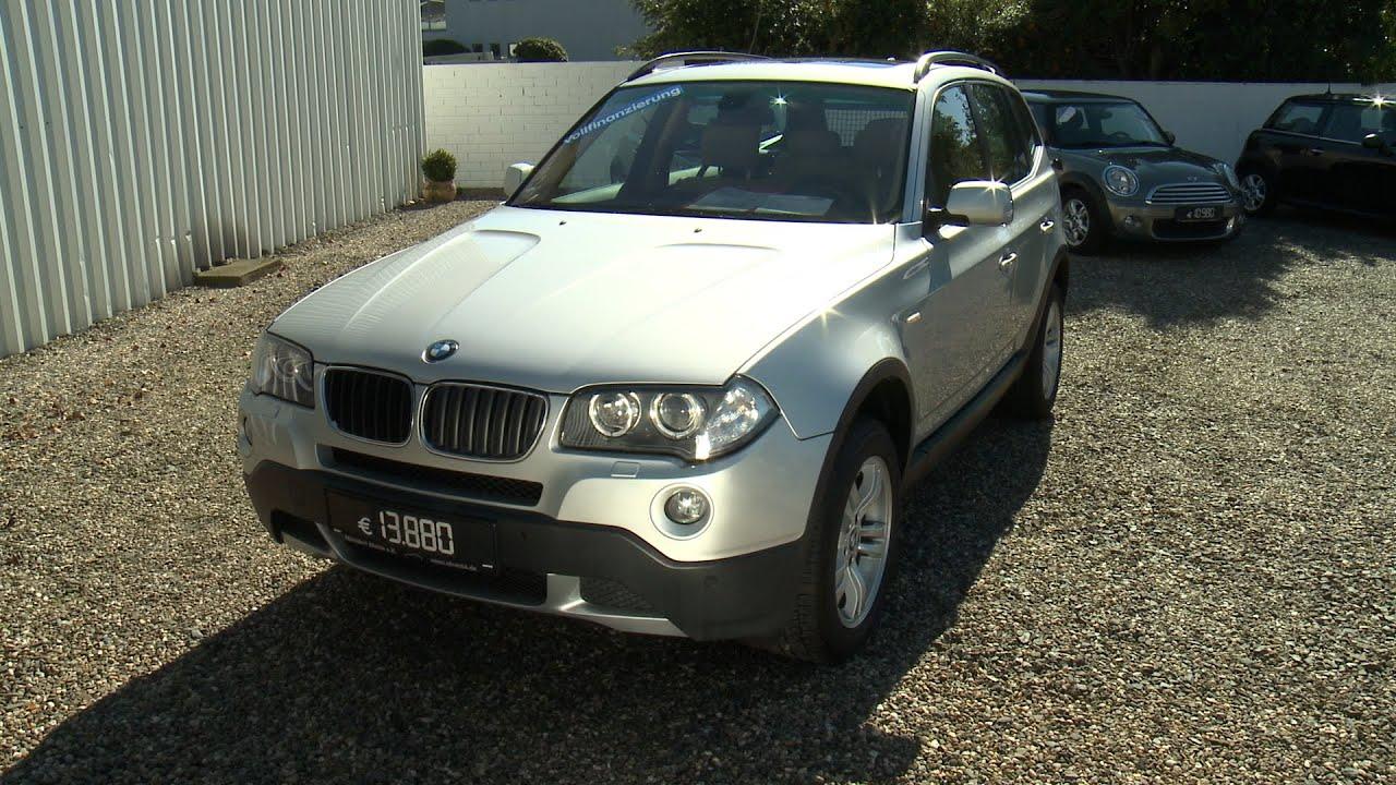 Autohaus line BMW X3 2 0 Diesel Baujahr 2007