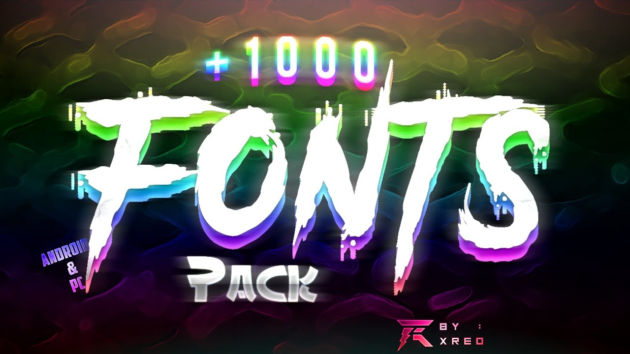 Download Free Gfx : Amazing Free Fonts Pack For Gfx Designs (+1000 ...