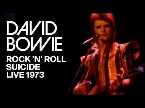 David Bowie – Rock 'n' Roll Suicide, taken from 'Ziggy Stardust The Motion Picture'