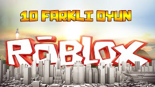 10 DIFFERENT GAMES!! - (English Roblox)