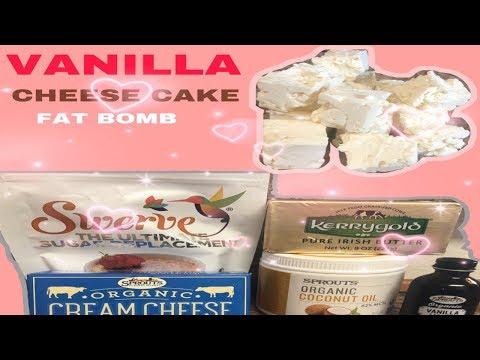 HOW TO MAKE FAT BOMBS//EASY RECIPE //VANILLA CHEESE CAKE//ORGANIC//EASY RECIPE//KETO