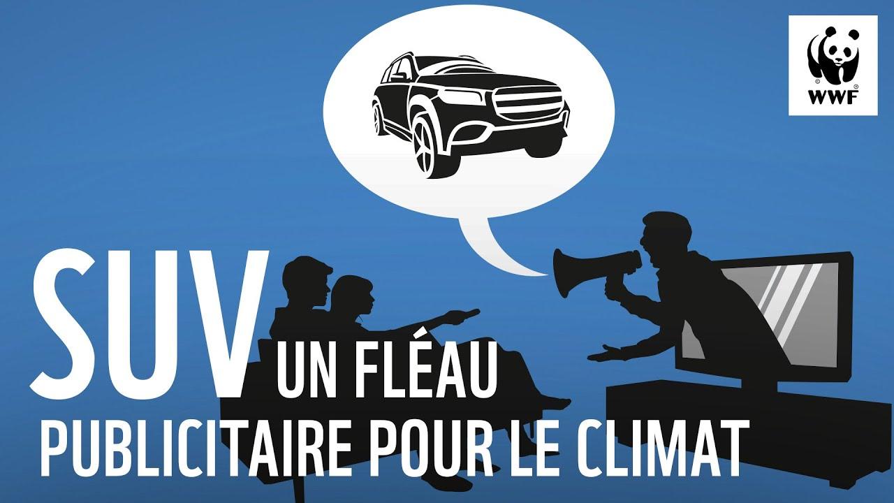 SUV : une catastrophe climatique bien trop présente dans nos publicités
