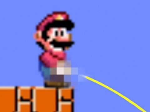 My Roommate Mario: Super Mario Wee