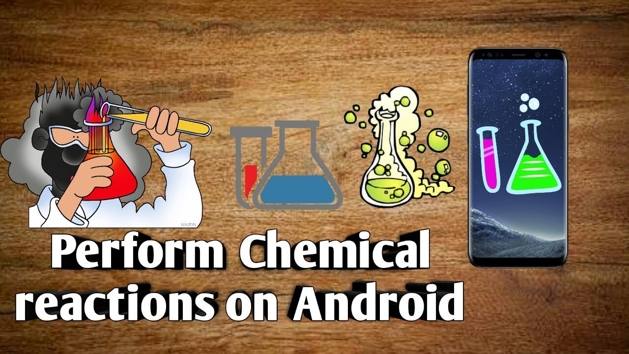 PERFORM CHEMICAL REACTIONS ON ANDROID | COOL CHEMISTRY GAME | BEAKER APP|  2017
