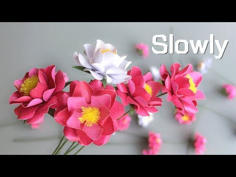 ABC TV | How To Make Small Rose Paper Flower - Craft Tutorial