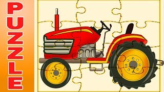 Tractor Puzzle For Kids | Learning Videos And Cartoons By Kids Channel