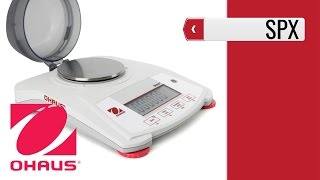 OHAUS Scout SPX Portable Balance product video presentation
