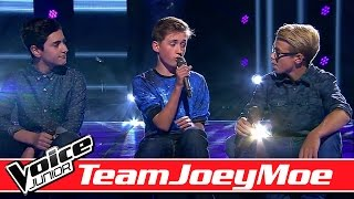 #TeamJoeyMoe: Aland vs. Marcus vs. Frederik - Voice Junior Danmark - Program 4 - Sæson 2