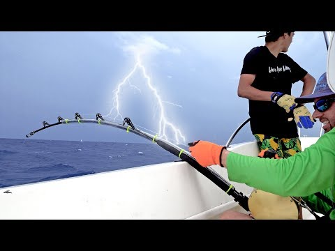 Hooked Up To A Giant Shark In A TERRIBLE Lightning Storm - Ft. Paul Cuffaro