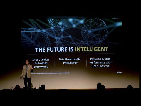AMD Chief Technology Officer Mark Papermaster's Keynote at Embedded World 2018