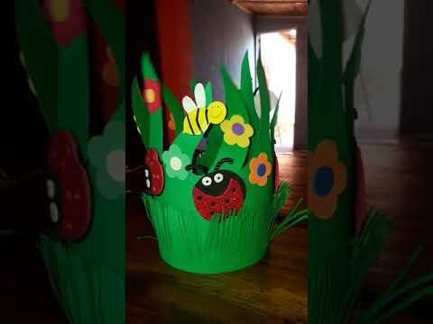 Sombrero primaveral infantil(2)