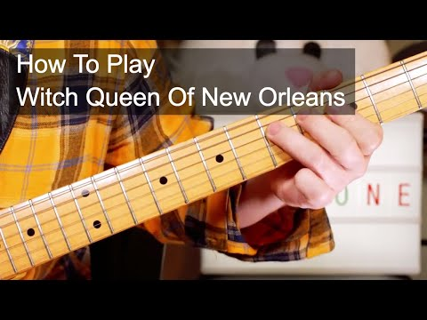 'Witch Queen Of New Orleans' Redbone Guitar Lesson Mp3