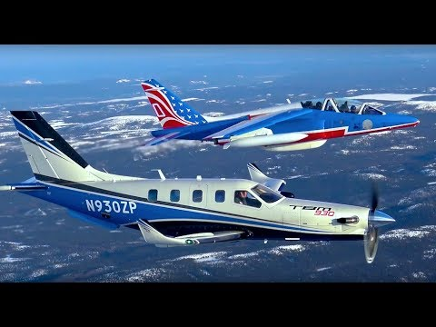 DAHER TBM & Patrouille de France - FERRY FLIGHT - US Version