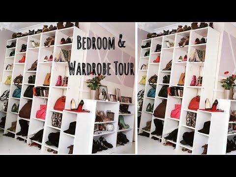 My Bedroom & Wardrobe Tour #Goals