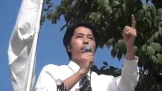 【2012 7 15】 維新政党・新風 金友隆幸 【有楽町イトシア前街宣】