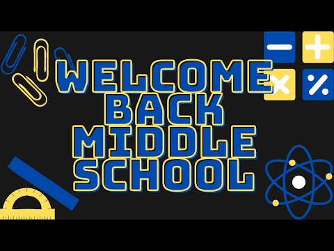 Bendle Middle School Welcome Back 2020/2021