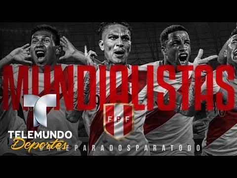 ¡El emocionante mensaje de Perú a Dinamarca! | Copa Mundial FIFA Rusia 2018 | Telemundo Deportes