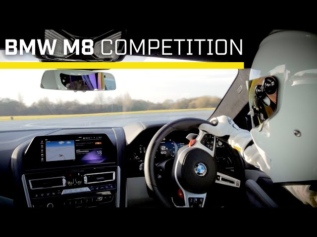 Stig Lap: BMW M8 Competition | Top Gear: Series 28