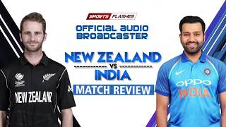 IND vs NZ 2nd T20 Cricket Match Review by Surinder Khanna | SportsFlashes