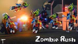 Will I Survive the ZOMBIE APOCALYPSE in Roblox Zombie Rush!?