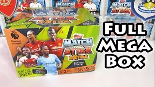 Match Attax Extra 18/19 Deluxe Box Opening | 24 Mega Packs | Limited Edition Prize