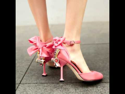 Silk Wedding High Heel 9.5cm Sexy Crystal Butterfly Knot Shoes | WoopShop.com