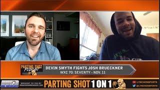 Devin Smyth talks WXC 70 fight Nov. 11 and Rashad Evans' impact on his career