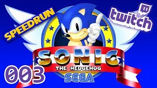 Let's Stream - SONIC THE HEDGEHOG - SPEEDRUN/SPEEDFAIL - [007]
