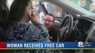 Local mom honored with free car for Mother's Day