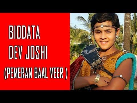 Biodata Dev Joshi Pemeran Baal Veer atau Ballu