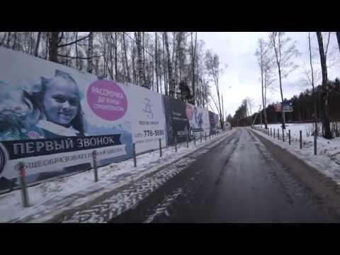 ЖК Рассказово  Москва  дорога от метро до комплекса