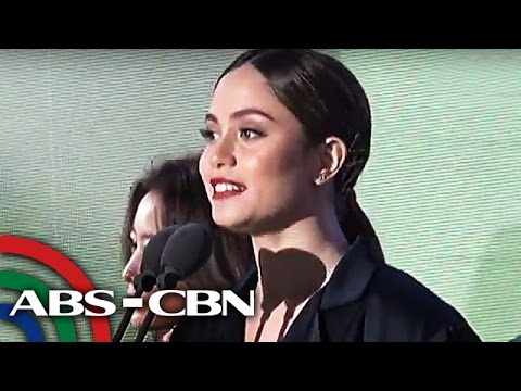 TV Patrol: Jessy Mendiola, itinanghal na 'Best Asia Pacific Star'