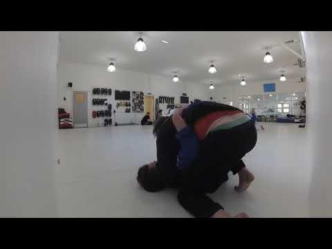 BJJ Rolling - Steven vs Liam 1