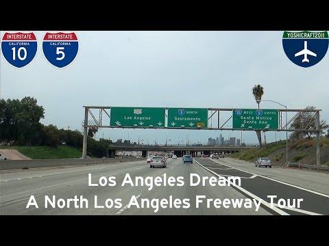 (5-16) Los Angeles Dream - A North Los Angeles Freeway Tour