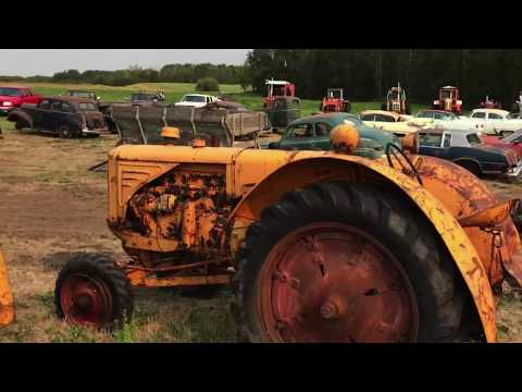 Antique tractors & farm implements, virtual tour
