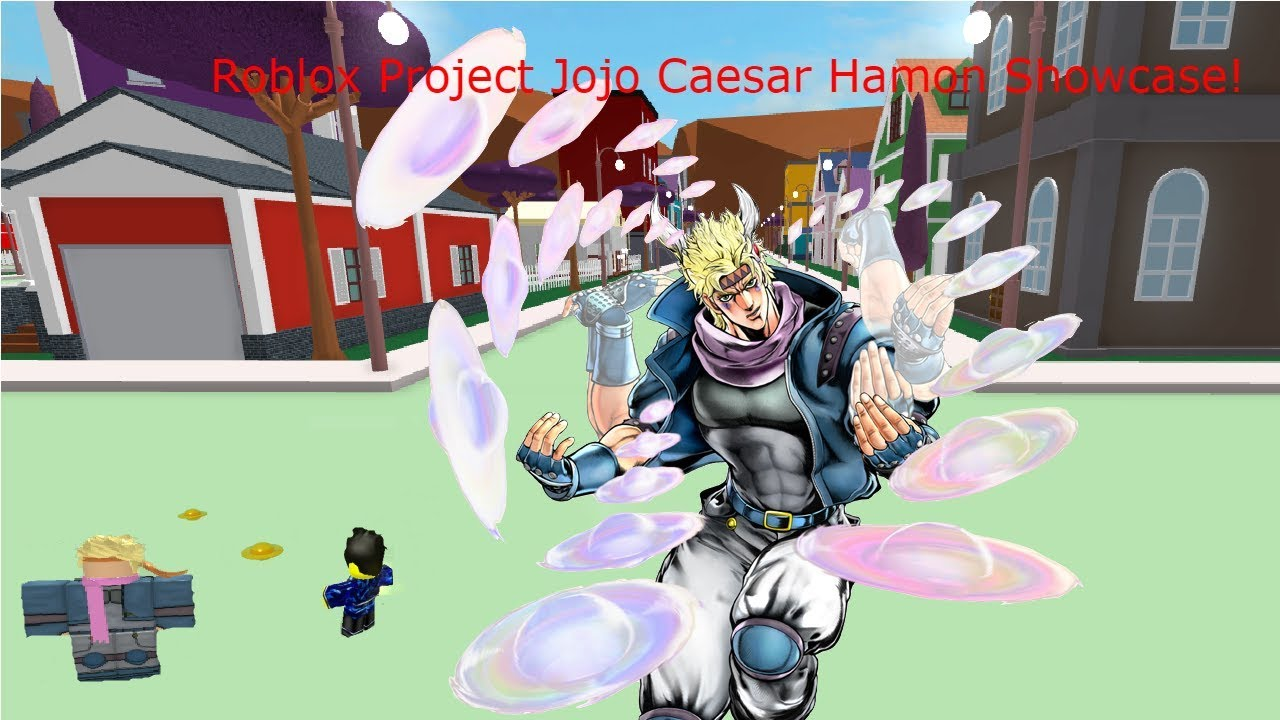 Roblox Project Jojo Caesar Hamon Showcase!