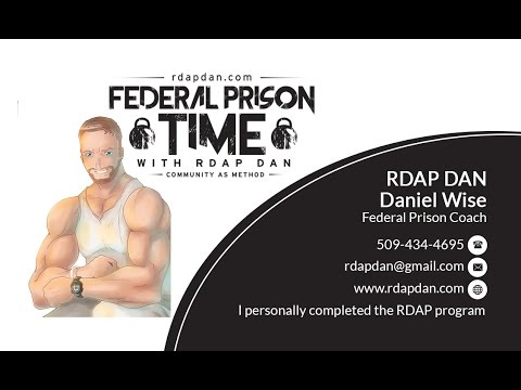 Federal Prison- A quick thank you.