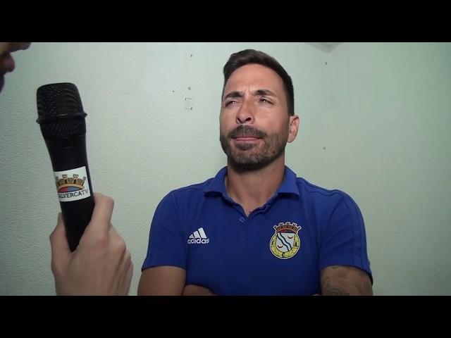 FC Alverca vs SG Sacavenense - Reações ao jogo