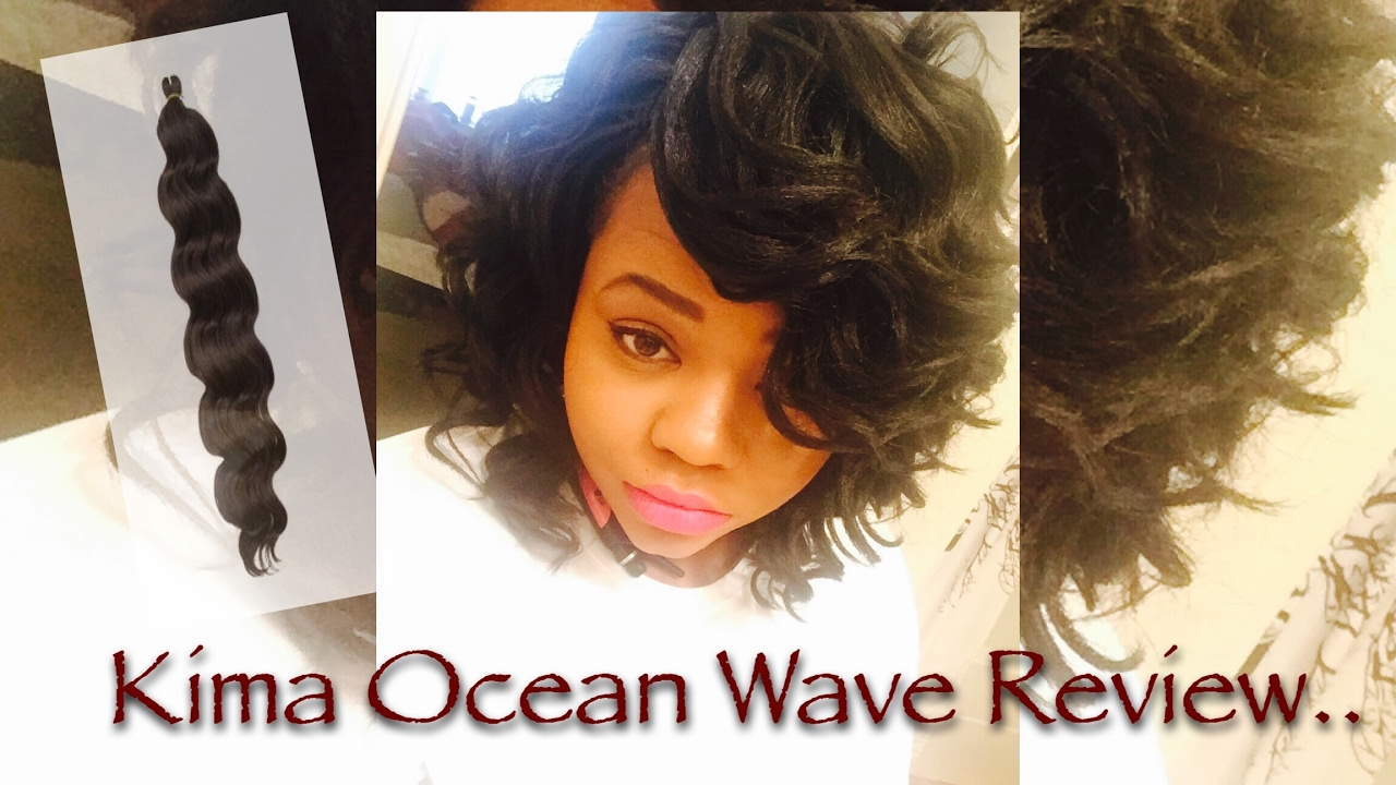 Kima Ocean Wave Hair Review Youtube