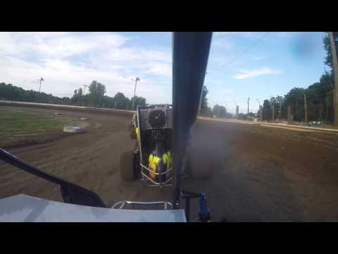 US 24 Speedway Heat Race Senior Class 7-15-17