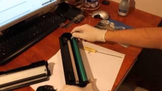 Заправка картриджа Pantum - Видеодемонстрация(, 2014-09-24T17:40:18.000Z)