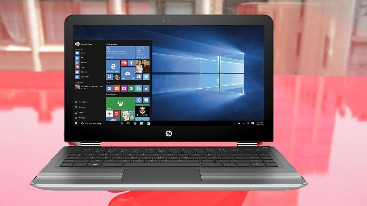 Hp Pavilion X360 Convertible 15 6 Inch Touchscreen Laptop Unboxing Review