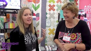 Angela's Dispatch from QUILT FESTIVAL 2017 | Midnight Quilt Show SEASON 4 Preview thumbnail
