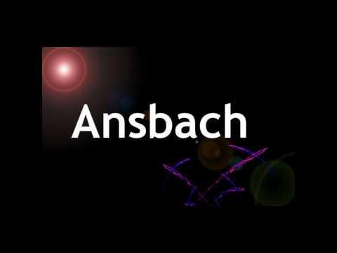 Single ansbach