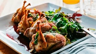 How to Cook Comedors Crispy Quail