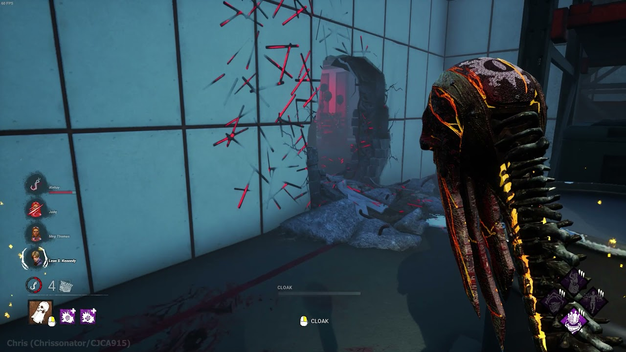 (#DeadbyDaylight) Wraith on The Underground Complex (Hawkins National Laboratory ) - 7/18/2021