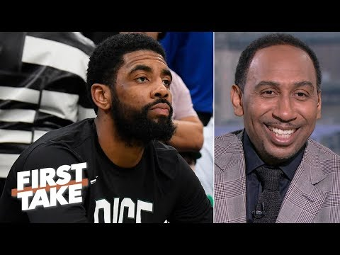 Kyrie Irving can lead the Celtics to the 2019 NBA Finals  - Stephen A. | First Take