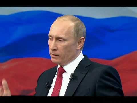 В.Путин.Разговор с В.Путиным. Продолжение.10.12.10.Part 3